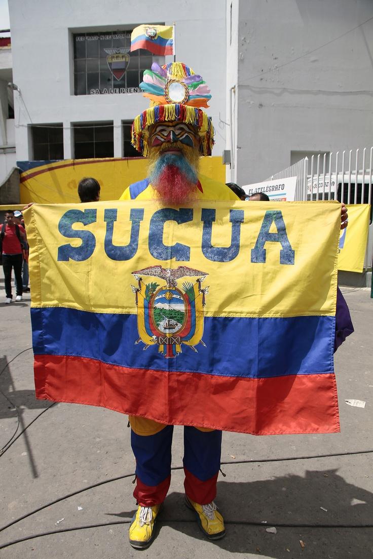 Hincha llegó desde Sucúa.