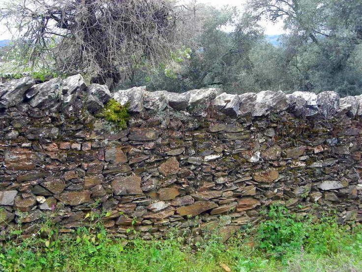 Medianeras o vallas de piedra