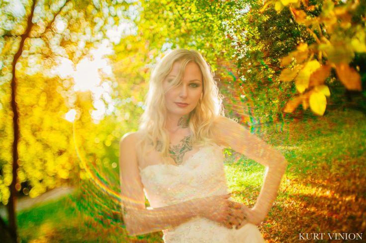 Martina's bridal portrait session at Petrin Hill in Prague, Czech Republic