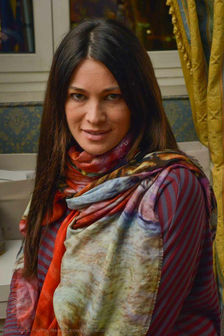 """Manuela Arcuri  Progetto """"Cinema Gift Room"""" in occasione dell' VIII Festival Internazionale del Film di Roma."""