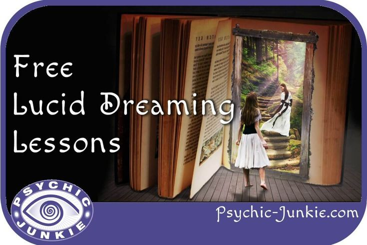 Free and comprehensive lessons to help you learn how to lucid dream.