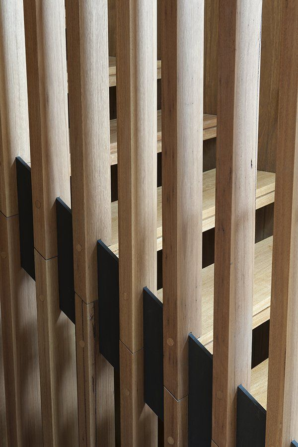 Stair detail MCK Architects