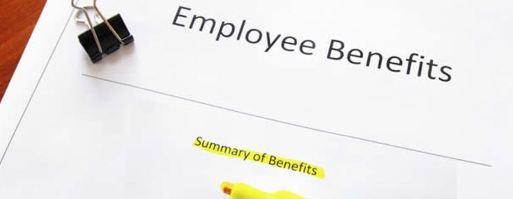 My Work Benefits: As a marketing manager some benefits are salaries can vary, car allowances, private health care insurance, and new technology. My Husbands Work Benefits are income, job stability, excellent health care insurance, and recognition.