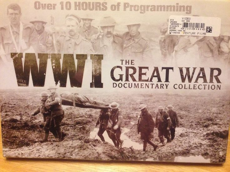 NEW WWI The Great War Documentary Collection 10 Hours 5 DVD Set Great Gift  #WWIDocumentary