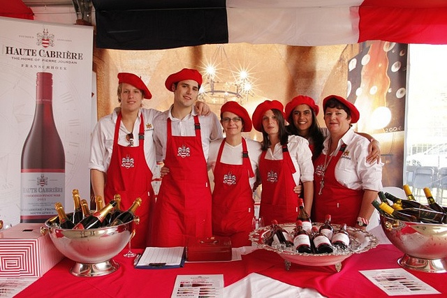 Haute Cabriere at the Franschhoek Bastille Festival
