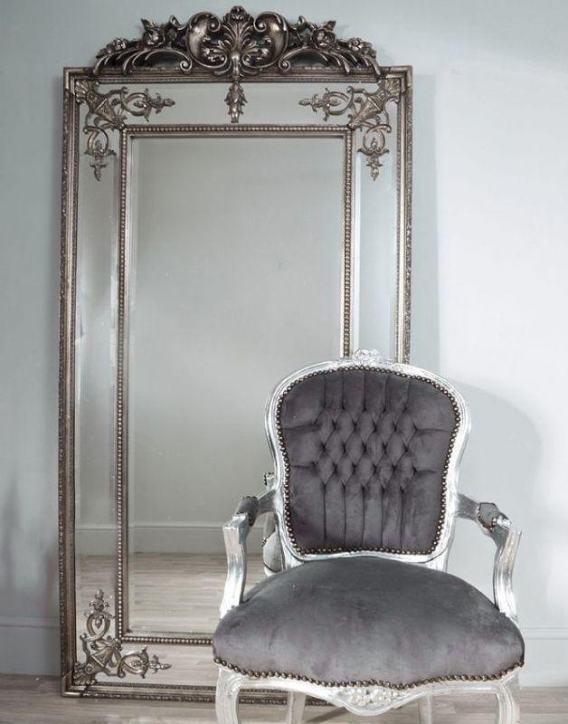 40940 р. Напольное зеркало Пабло (florentine silver) в магазине shatura-mebel.com. Габариты: 92х200 см внутренний размер 57х148 см