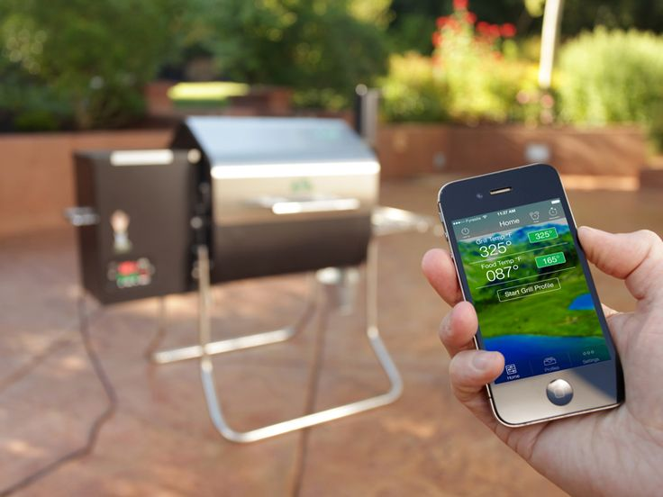 Control your Green Mountain Grill from your phone.