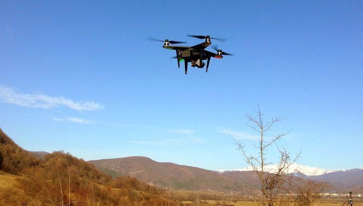 Cu Drona pe Lacurile de la Sambotin - Gorj