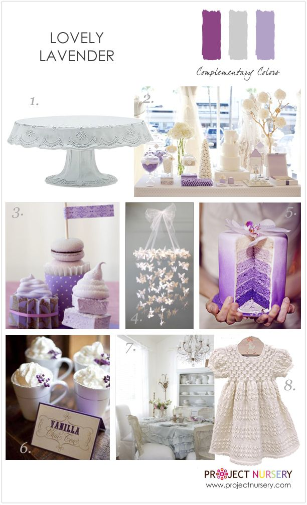 Inspiration for a lovely lavender party - #partyidea #designboard #purplePurple Themed Baby Shower, Purple Baby Shower Theme, Baby Shower Purple Theme, Baby Shower Girl Lavender, Lavender Baby Shower Ideas, Baby Shower With Purple, Baby Shower Lavender, Purple Baby Shower Ideas, Ds Shower