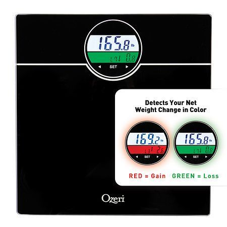 Ozeri WeightMaster Digital Bath Scale with BMI & Weight Change Detection up to 400 lbs - 1 ea