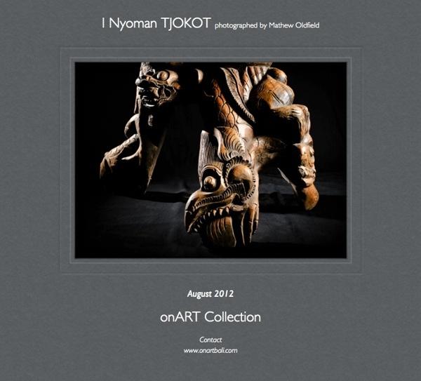 I Nyoman TJOKOT ARTIFACTS FOR SALE by @onartbali via Behance