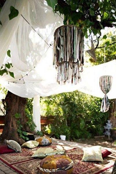 decoración boda de las 1001 noches