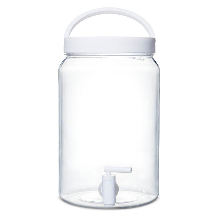 4.1 liter Plastic Beverage Dispenser - White