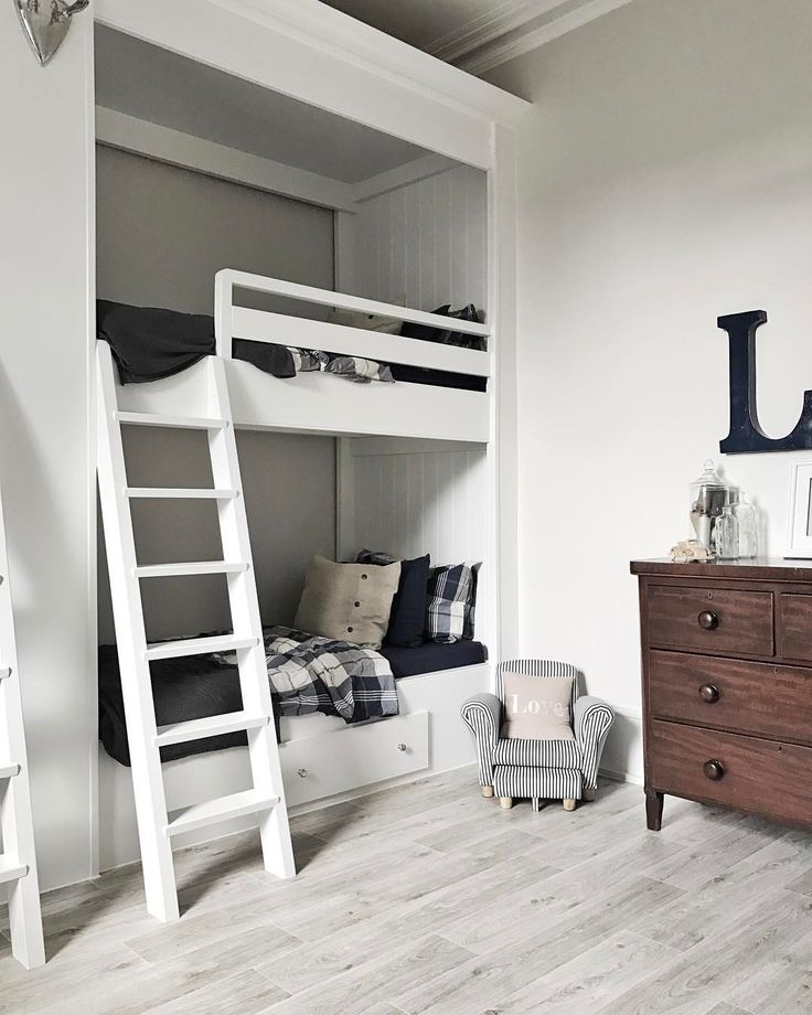 "40 Likes, 2 Comments - Susannah - Stylist (@susannahhemmingsstylist) on Instagram: ""Back home and ready for the Easter holiday sleepovers! Let the games begin. #bunkbeds #bedroom…"""