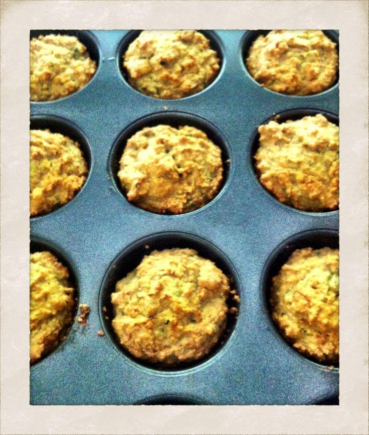 Clean Gluten Free Zucchini Muffins