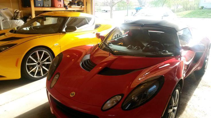 Lotus Evora AND A Lotus Elise.
