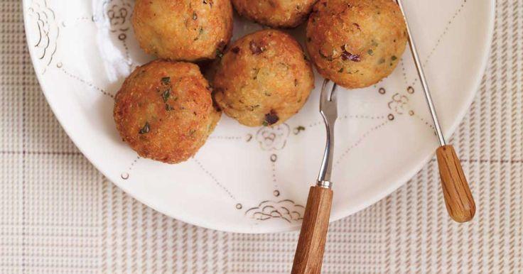 Boulettes végé au quinoa et pois chiches