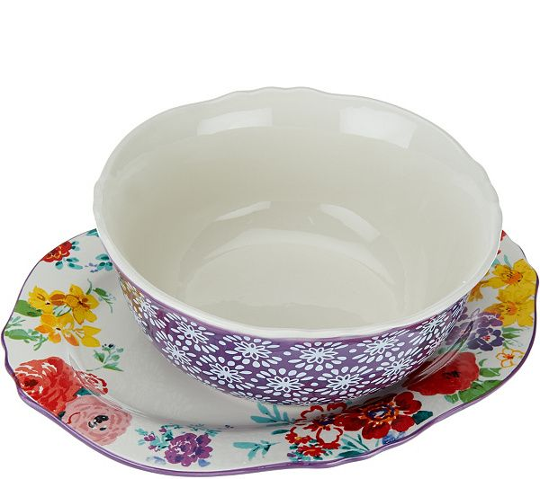 Serve up something scrumptious with this platter and bowl set from Ree Drummond, The Pioneer Woman. QVC.com