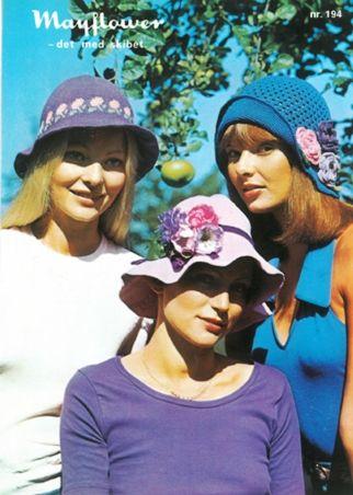 Mayflower194 - Hæklede hatte/bøllehatte - Mayflower