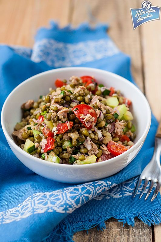 Mung Bean Tuna Salad