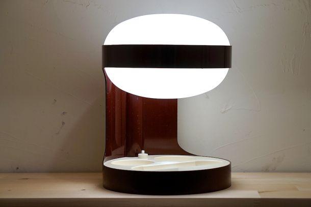 lampe KD29 marron joe colombo kartell 1967 1