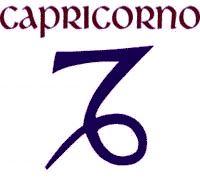 Capricornio (♑) es el décimo signo del zodíaco, el quinto de naturaleza negativa (femenina) y de cualidad cardinal. Simboliza la sabiduría y su símbolo representa la montaña, pertenece junto a Tauro y Virgo al elemento tierra. Está regido por Saturno. Su signo opuesto es Cáncer. El símbolo astrológico presenta un animal híbrido: una cabra con cola de pez o monstruo marino. (21 de Diciembre - 20 de Enero).