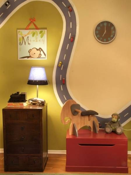 If baby is a boy....adorable! Original wall deco for boys'rooms