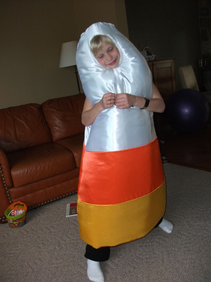 Just for fun, here's Julia's candy corn costume.