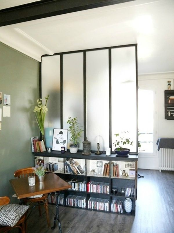 8 best verrière images on Pinterest Room dividers, Bedroom and