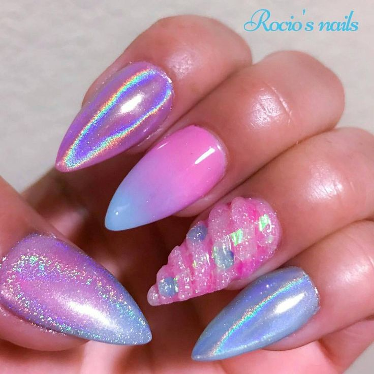 "1,394 Likes, 8 Comments - Oceannailsupply.com (@oceannailsupply) on Instagram: ""Holo pigment available on oceannailsupply.com . . .  from @rociosnails -…"""