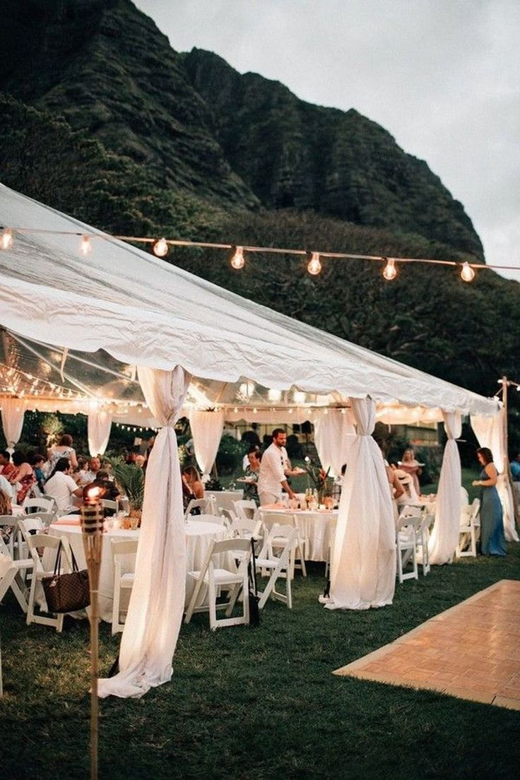 Outside are sentimental and non-claustrophobic which makes me by and by a monster devotee of weddings held outside. The environment's effect itself is... ,  #engagement #event #Ideas #otdoor #party #wedding