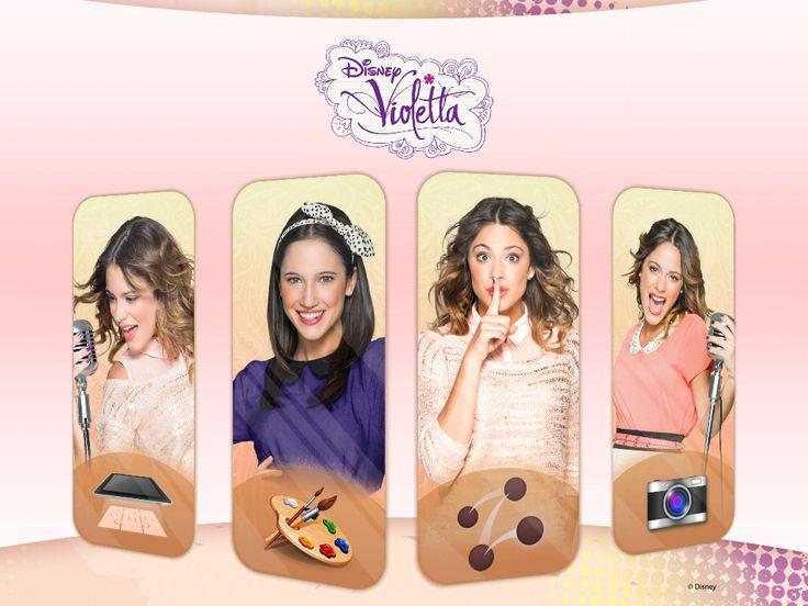 Nuevo juego de Violetta disponible para Ipad,Ipod,Iphone y Ipod Touch