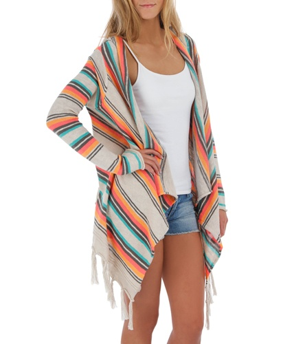 Rip Curl Women's Driftwood Sweater  Love this for beach bonfires!