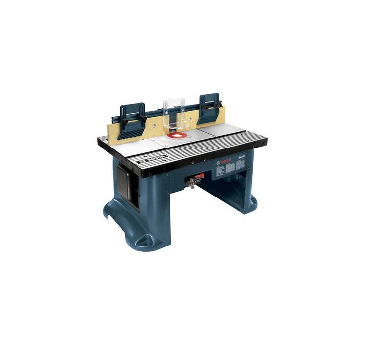 Bosch RA1181 Tall Aluminum Router Table Power Tool Accessories Router Accessories Router Tables