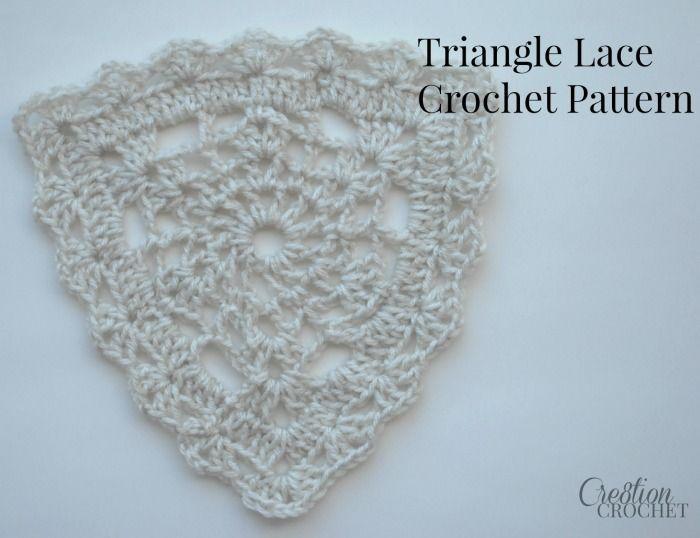 Mejores 15 imágenes de Crochet Triangles en Pinterest   Cuadrados de ...