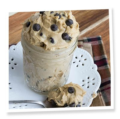 Must try this for our next friends get together. Sugar free and egg free cookie dough dip