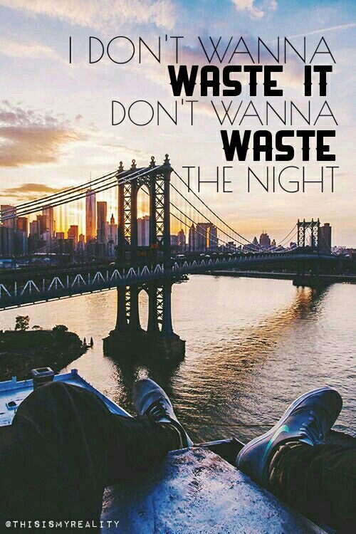 Waste The Night 5sos made by @ThisIsMyReality