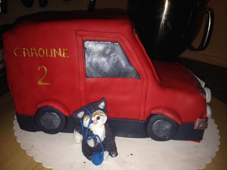 Postman Pat cat