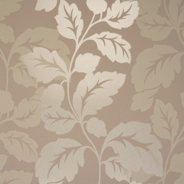 My Two Designers Clarke & Clarke Vine Double Roll Wallpaper in Taupe ($112) ❤ liked on Polyvore featuring home, home decor, wallpaper, backgrounds, pattern wallpaper, double roll wallpaper, fabric wallpaper, fabric wall covering and fabric home decor