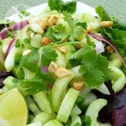 Spicy Thai Cucumber Salad @ allrecipes.com.au