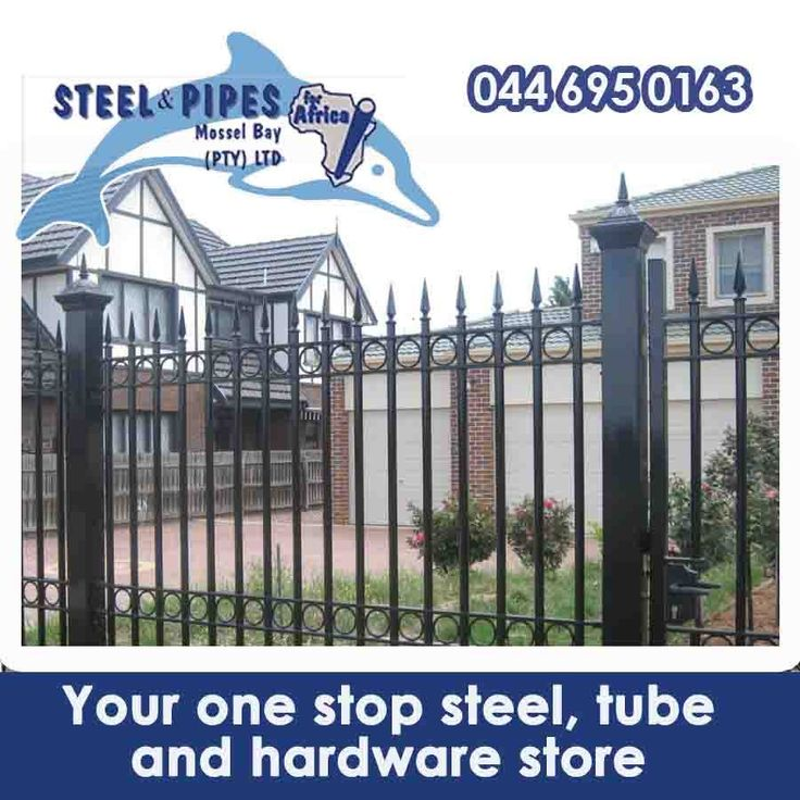 Steel & Pipes Stock a range of steel hardware and other metals, we also stock a variety of fencing and gates for your home, along with swing and slide gate motors. Contact us to find out more about these products. #homesecurity #homesafety #fencing