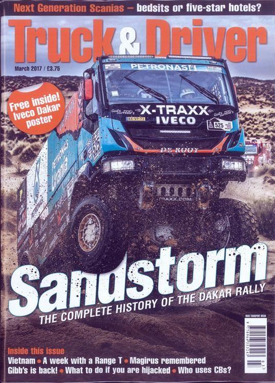 Buy Truck And Driver Magazine Turkey   British Magazines from Newsstand   Trucking