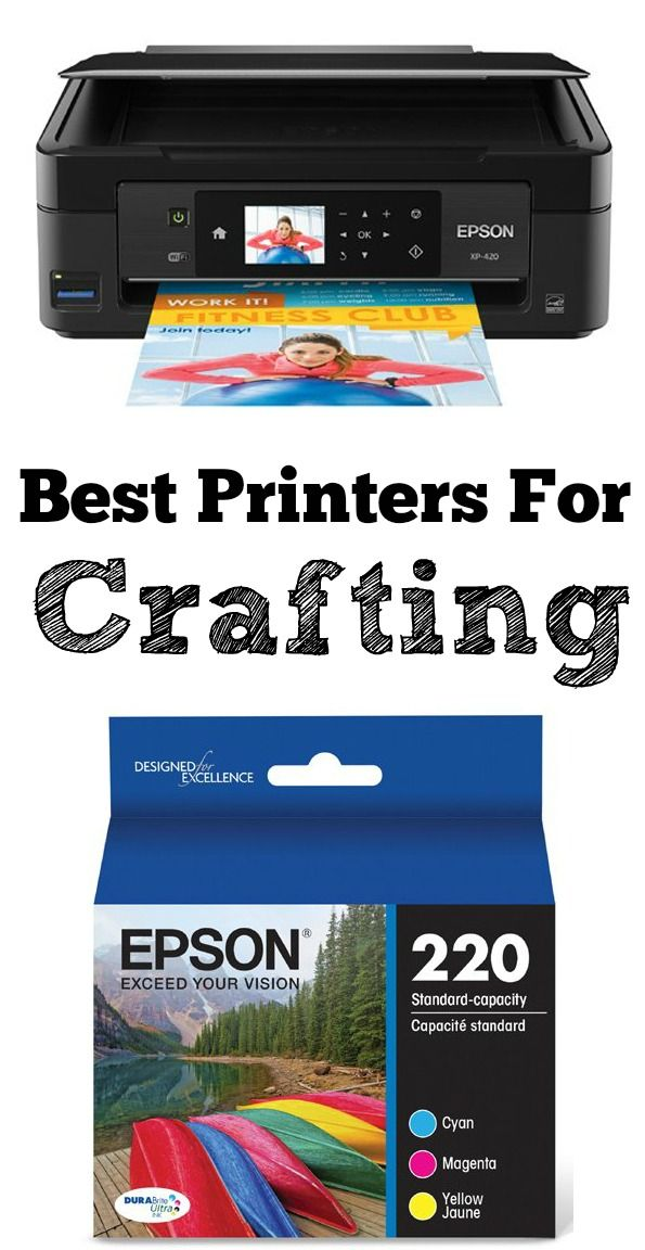 The Best Printers for Crafting People often ask me about the type of printer I use. So I thought I would write a short post and tell those of you that are interested, about my favorite type of printer! {This post contains affiliate links} My current printer is an XP 419,which is very similar to …