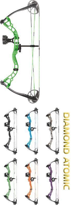 Compound 20838: 2017 Diamond Archery Atomic Youth Compound Bow Pkg 6-29# Rh Green BUY IT NOW ONLY: $219.99