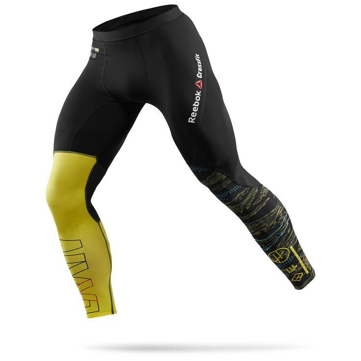 Tyto kompresní elastické kalhoty na CrossFit mají ploché švy redukující tření a nepříjemné zadrhávání. Zpevněná zadní část okolo pasu zajišťuje vyšší odolnost v namáhané partii. Technologie PlayDry odvádí vlhkost od těla, antimicrobiologická vlákna minimalizují nepříjemné pachy. Navíc je materiál odolnější proti chlóru, aby vydržel častější praní. 53% PES/47%CO.