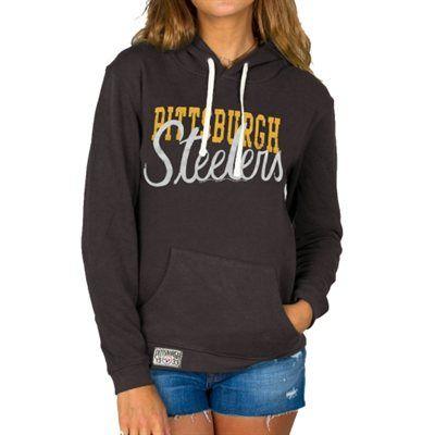 Toddler Pittsburgh Steelers Black Team Logo Fleece Pullover Hoodie