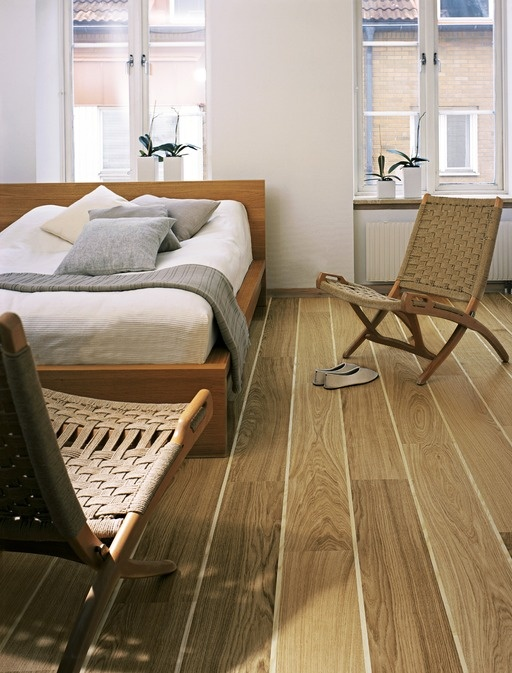 Kahrs Trestle Oak  Wood Flooring -the maritime feel