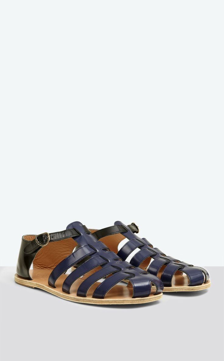 Sandales cuir - Chaussures - Homme