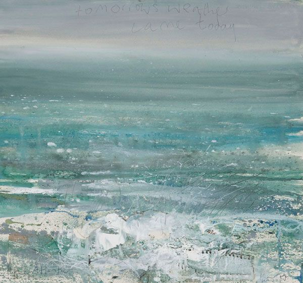 Kurt Jackson: Tomorrows weather came today. February 2012 Campden Gallery, fine…