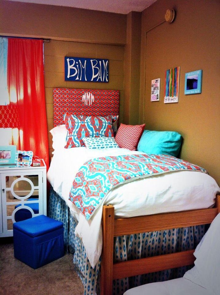 526 best images about top dorm room design ideas on - Dorm room bedding ideas ...